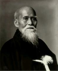 Portrait of Morihei Ueshiba